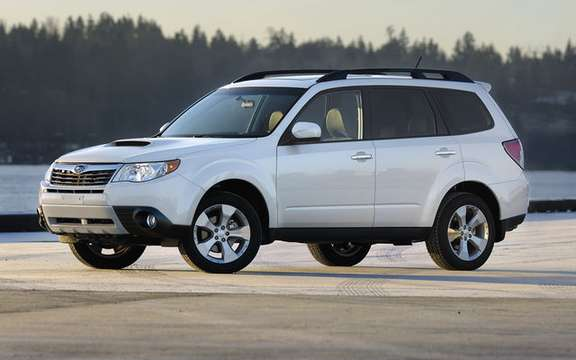 Subaru announces pricing for 2010 Forester models picture #2