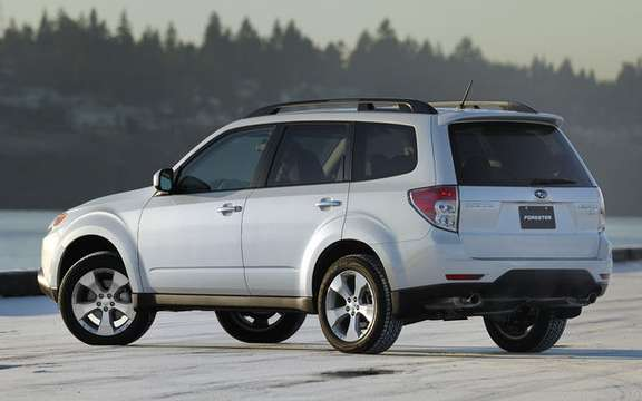 Subaru announces pricing for 2010 Forester models picture #3