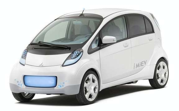 Mitsubishi i-MiEV electric propulsion is available from November 2009 in Canada