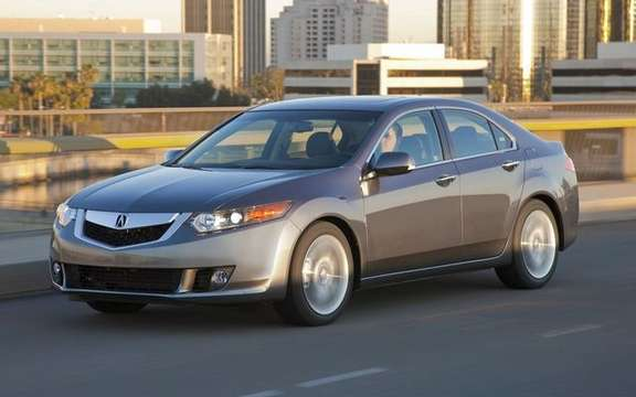 The 2010 Acura TSX, avex V6 under the hood