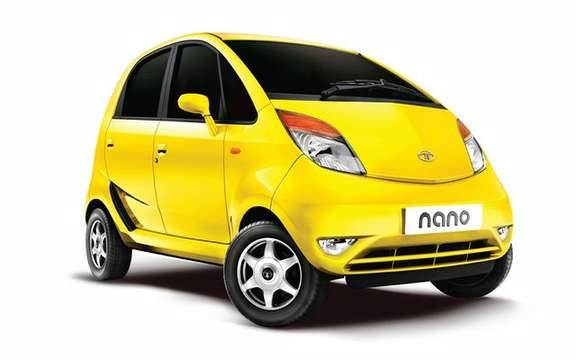 Auto least expensive in the world Tata Nano, official launch in India of