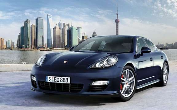 Porsche Panamera 2010 officially unveiled in Shanghai picture #2