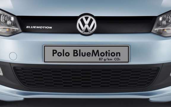 Volkswagen Canada introduced the range 'BlueMotionTechnologies at Canada