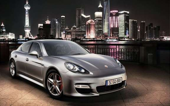Porsche Panamera 2010 officially unveiled in Shanghai picture #4