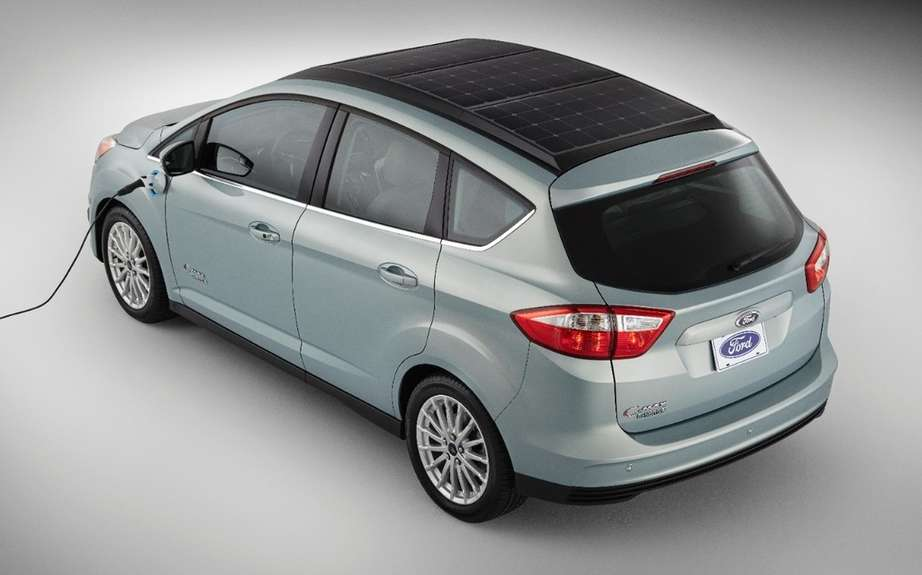 Ford C-Max solar power picture #9