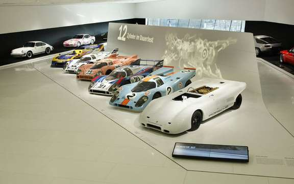 Porsche celebrates the 40th anniversary of 917