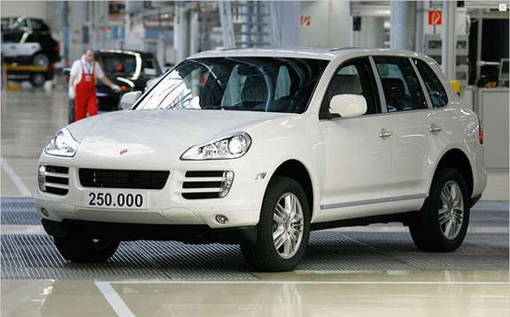 Porsche Cayenne, already 250,000 units produced picture #2