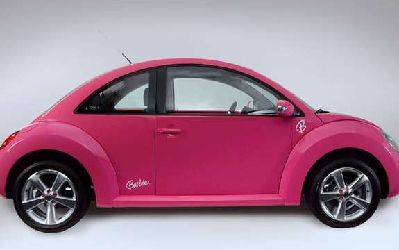 VW New Beetle cabrio pink, destiny has Barbie picture #4