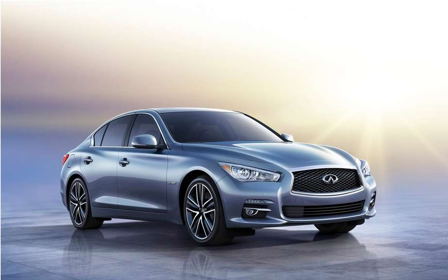 Infiniti announces its Canadian sales figures in December