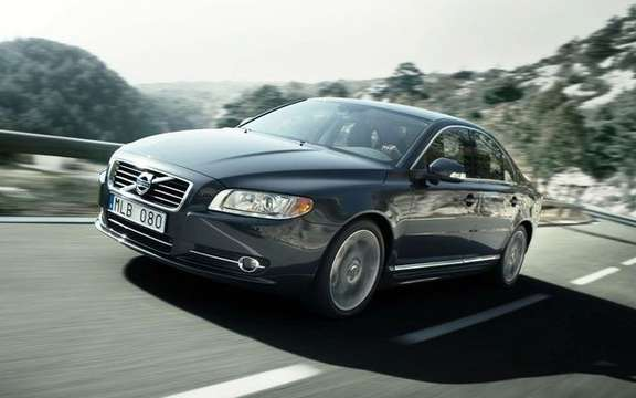 2010 Volvo S80, a mid-term revision picture #1