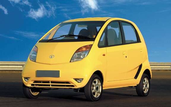 Tata Nano, the car of the Indian people picture #3