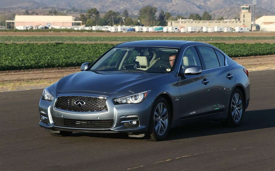 Infiniti announces its Canadian sales figures in December picture #3
