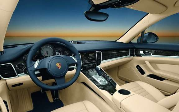 Porsche Panamera 2010, after the passenger silhouette here picture #2