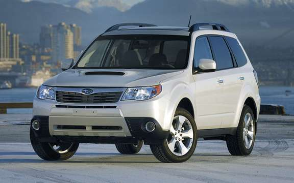 Subaru 2009 Forester PZEV is happening in fashion