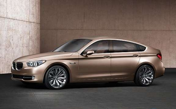 BMW unveiled the 5 Series Gran Turismo on the Internet