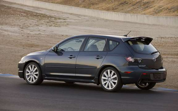 The MazdaSpeed3 is back for 2010 picture #3