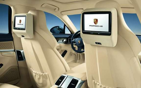 Porsche Panamera 2010, after the passenger silhouette here picture #8