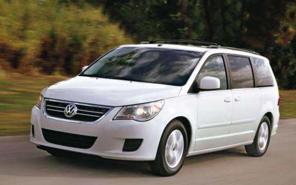 Volkswagen Canada revised its sales targets for the Routan picture #3