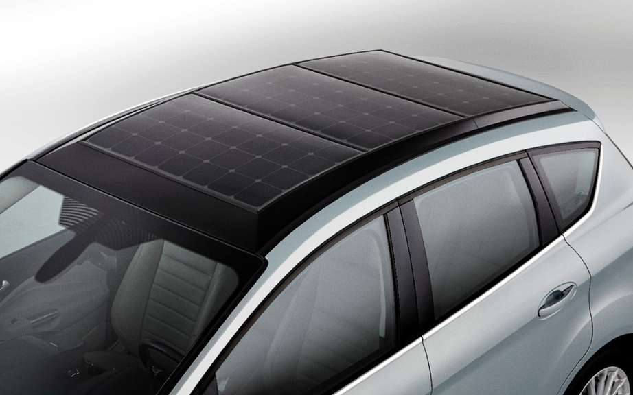 Ford C-Max solar power picture #10