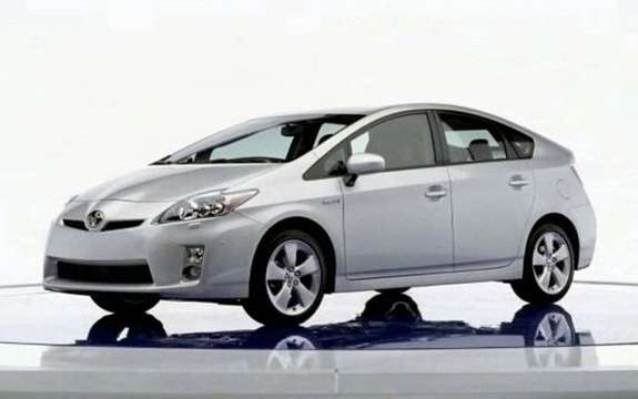 2010 Toyota Prius, a new report listing
