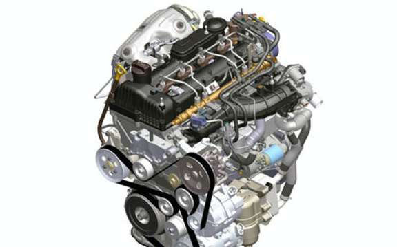 Hyundai diesel engine and type 'R'