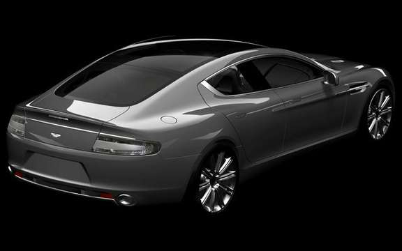Aston Martin Rapide, presentation without comment picture #2