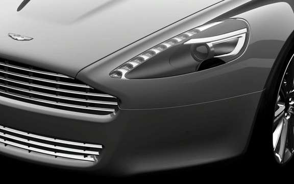 Aston Martin Rapide, presentation without comment picture #3