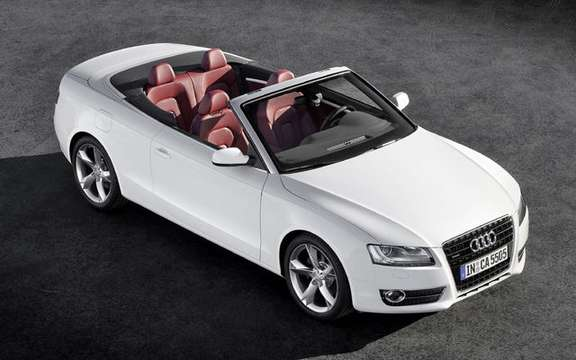 Audi A5/S5 Cabrio First official information and photos