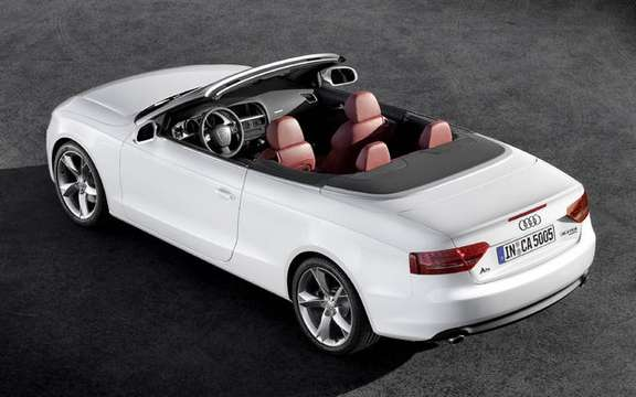 Audi A5/S5 Cabrio First official information and photos picture #2