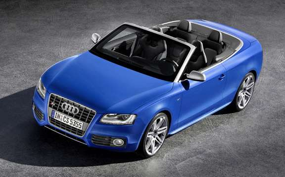Audi A5/S5 Cabrio First official information and photos picture #3