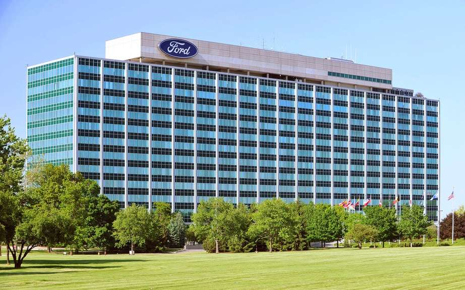 Ford ahead of Toyota with 2.4 million sales in North America