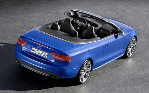 Audi A5/S5 Cabrio First official information and photos picture #4