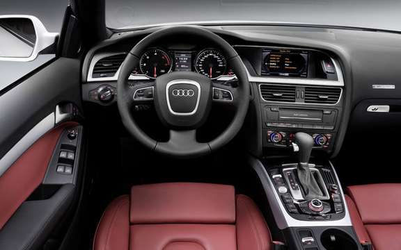Audi A5/S5 Cabrio First official information and photos picture #6