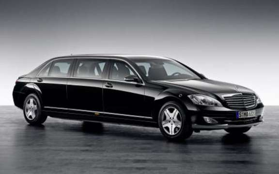 Mercedes S 600 Pullman Guard armored more than ca ...