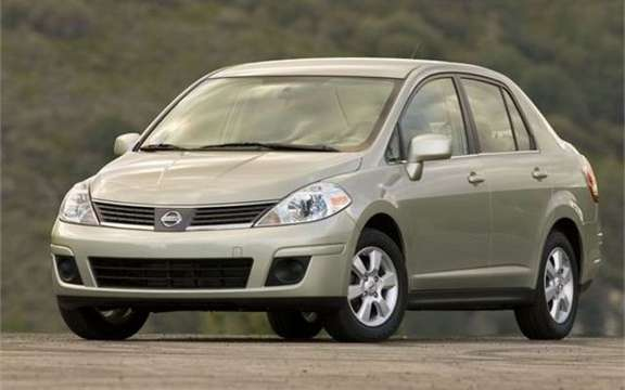 Nissan Versa Sedan 2009, a very remark return