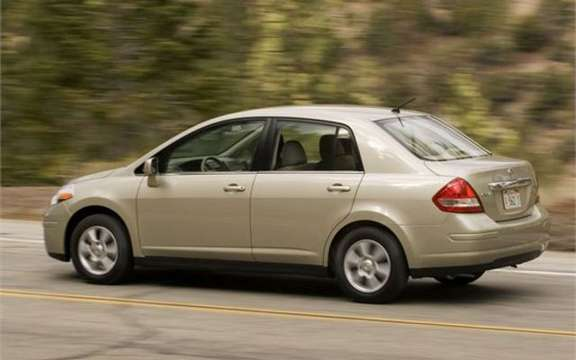Nissan Versa Sedan 2009, a very remark return picture #2