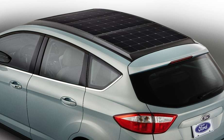 Ford C-Max solar power picture #11