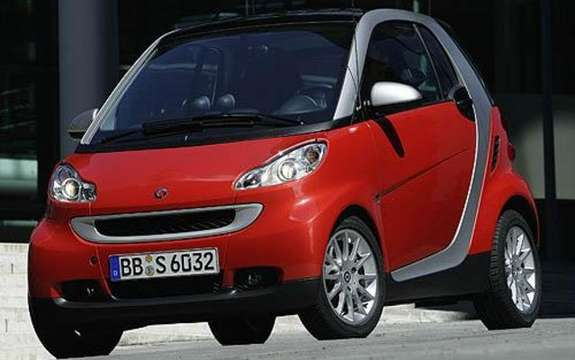 Mercedes-Benz Canada unveiled the price of its small Smart 2009