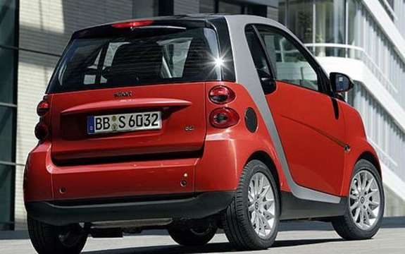 Mercedes-Benz Canada unveiled the price of its small Smart 2009 picture #2