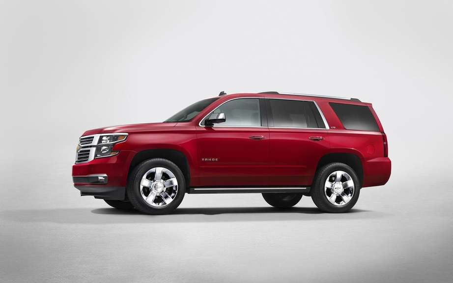 Chevrolet Tahoe 2015 can discourage thieves picture #4