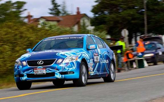 Hybrid Lexus ends at the sixth place Targa Newfoundland Rally 2008 picture #3