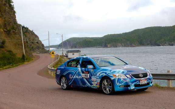 Hybrid Lexus ends at the sixth place Targa Newfoundland Rally 2008 picture #4