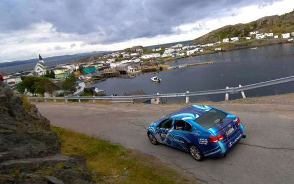 Hybrid Lexus ends at the sixth place Targa Newfoundland Rally 2008 picture #6