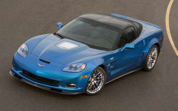 Corvette ZR1, prices and technical data