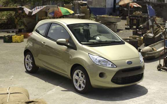 Ford KA, star of the next James Bond