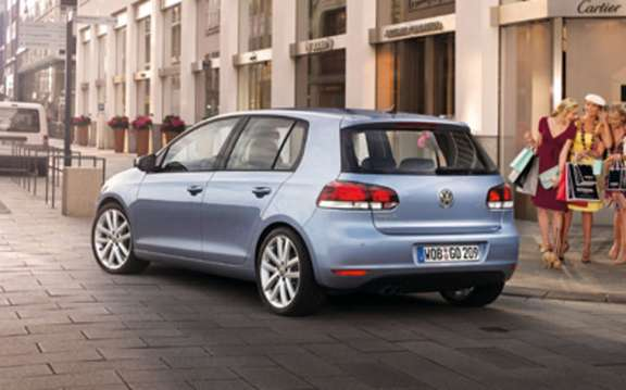Volkswagen Golf VI, it assumes once again