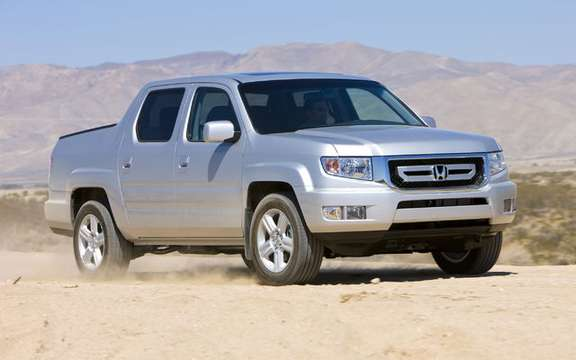 Some changes to the 2009 Honda Ridgeline