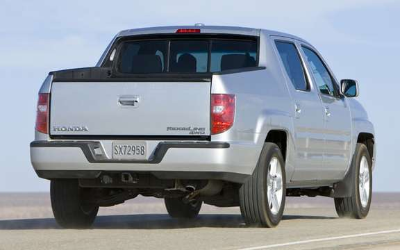 Some changes to the 2009 Honda Ridgeline picture #3