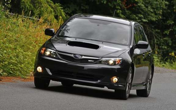 Changes to the Impreza range in 2009 picture #4