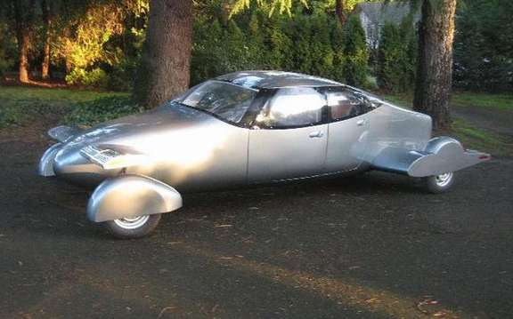 Milner AirCar, the flying car